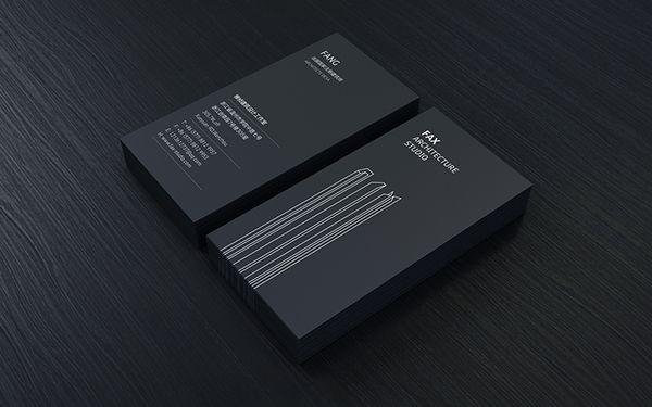 FAX Architectural Design / Brand identity on Behance