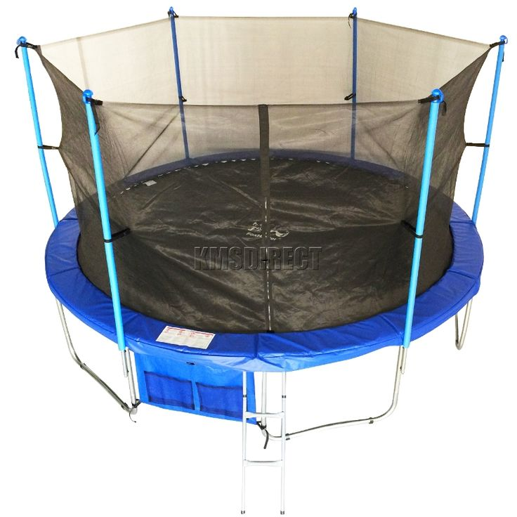 Exterior: Delightful Trampoline Spring Cover And Net from Great Quality Trampoline Cover