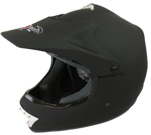 Childrens-Kids-MOTOCROSS-ATV-MATT-Black-Red-Blue-Off-Road-Crash-Helmet  £24,95   01270 841877