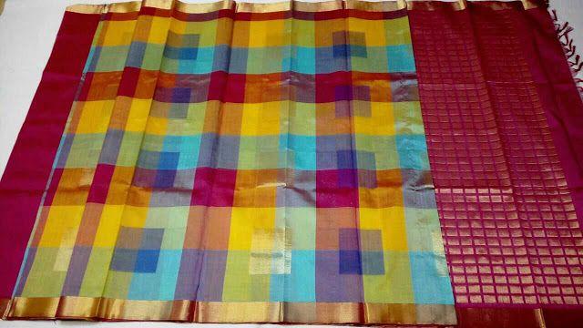 Kuppadam silk sarees   Online Kuppadam Checks Sarees   CityFashions To order pls WhatsApp on +91 9703713779