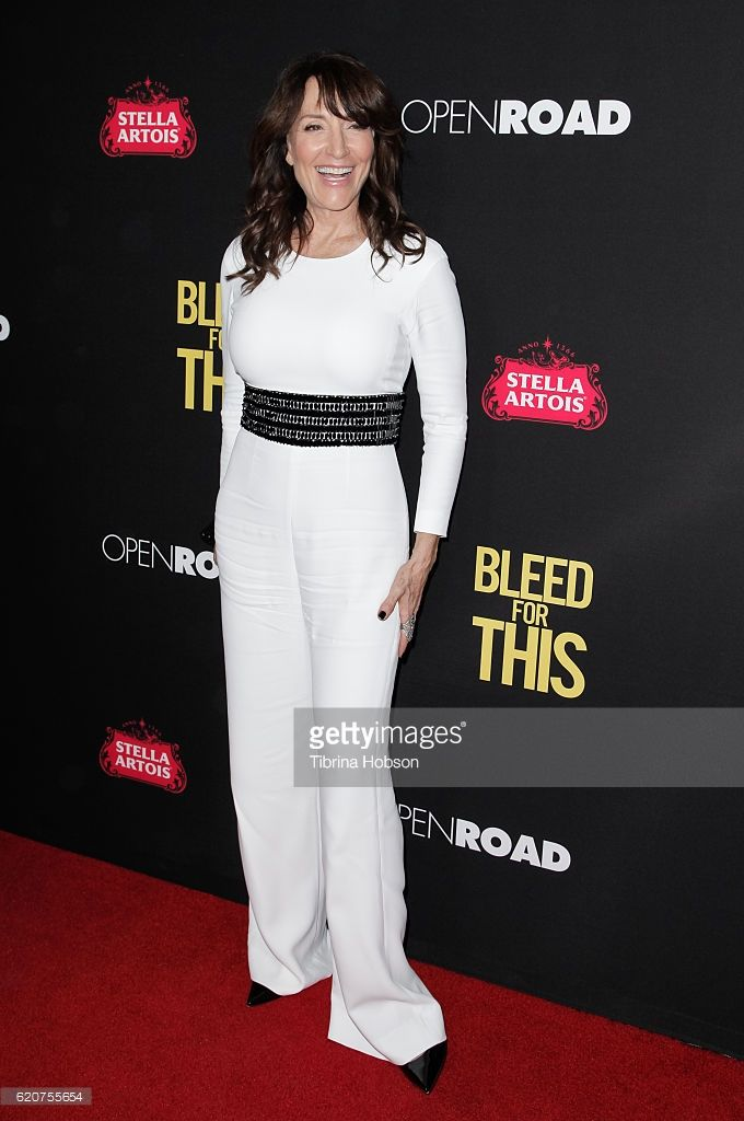 Katey Sagal attends the premiere of Open Road Films 'Bleed For This' at Samuel Goldwyn Theater on November 2, 2016 in Beverly Hills, California.