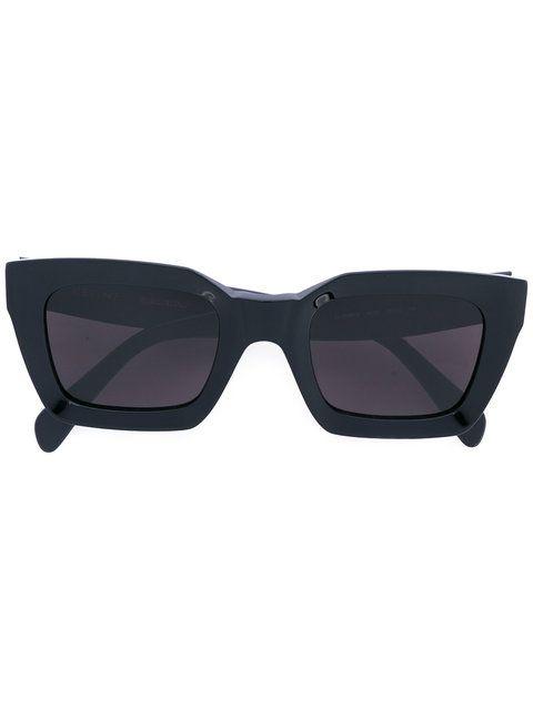 Céline Eyewear солнцезащитные очки в широкой оправе