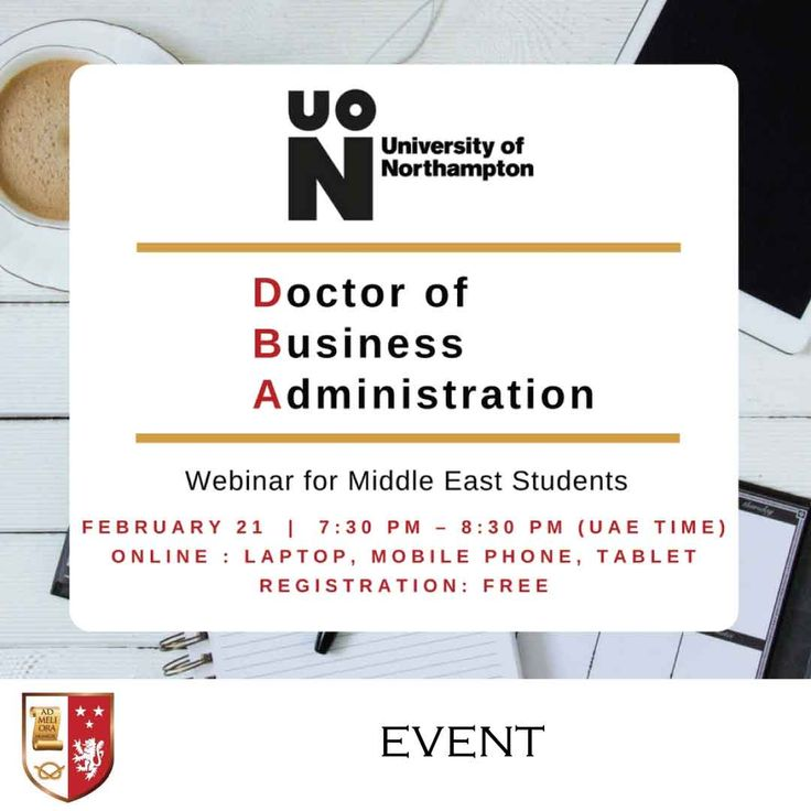 Dr. Timothy Campbell, visiting professor of International Management from the University of Northampton, will join us on Wednesday, February 21st, 2018 from 7:30 pm (UAE Time) for a live info-session on the DBA programme, which you can attend using your computer, laptop, or mobile phone!   Hurry and register now: https://blog.staffordglobal.org/events/university-of-northampton-dba-webinar-for-middle-east-students  #webinar #livesession  #universityofnorthampton  #UniNorthants #UoN…