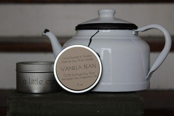 Vanilla Bean 5 oz EcoSoya Candle