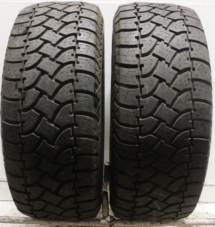 2 fulda tramp 4x4 tour 33 15 used part worn tyres 108qr