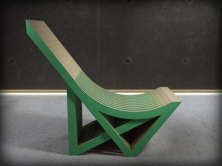 Sillon C es una de las piezas de mobiliario realizado en cartón del catálogo de Dcarton. Dcartón es un proyecto que apuesta por la utilización de este material como vehiculo para  introducir en los hogares, empresas, centros públicos y privados etc piezas de diseño ecólogico e innovador. Los muebles de Dcartón se fabrican por apilamiento y encolado de planchas de cartón de alta dureza y resistencia y madera DM 3 mm lacada en sus caras exteriores. Medidas: 980 x 440 x 920 mm $400