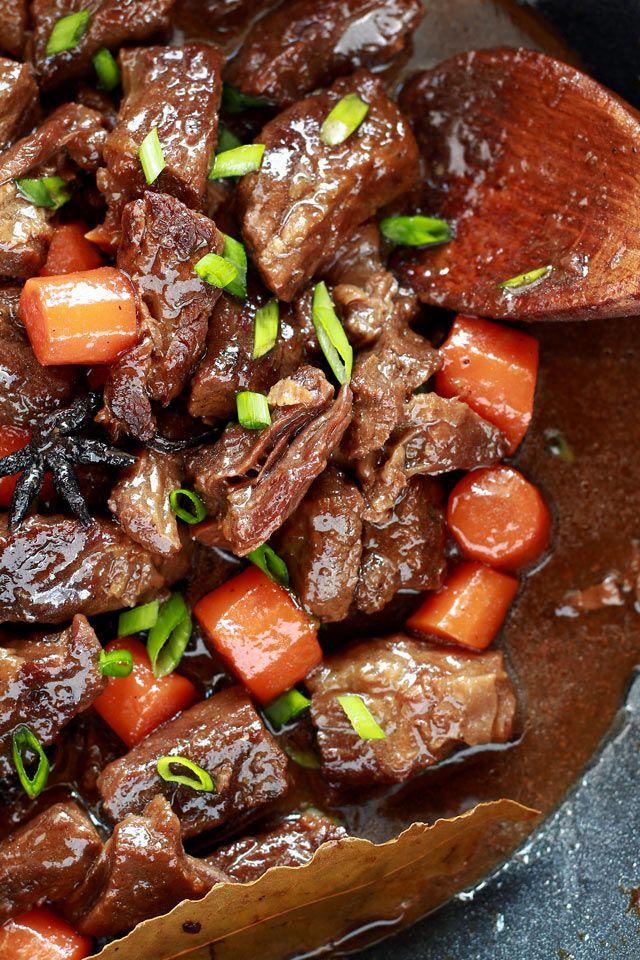 Braised Beef - Filipino/Chinese style | Recipe | Braised ...