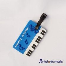 Musical Journey ID Tag - Blue