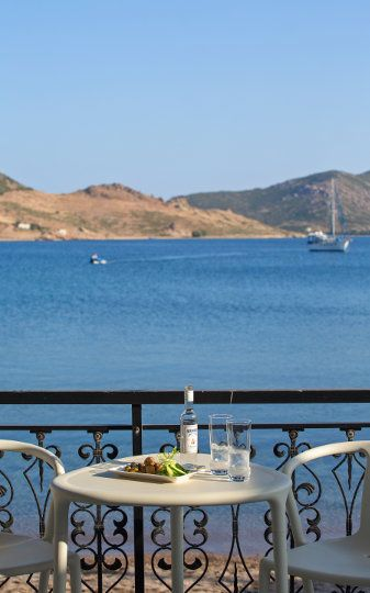 Seaview room in Silver beach hotel. Nothing more to ask. | #grikos #silver #silverbeach #patmos