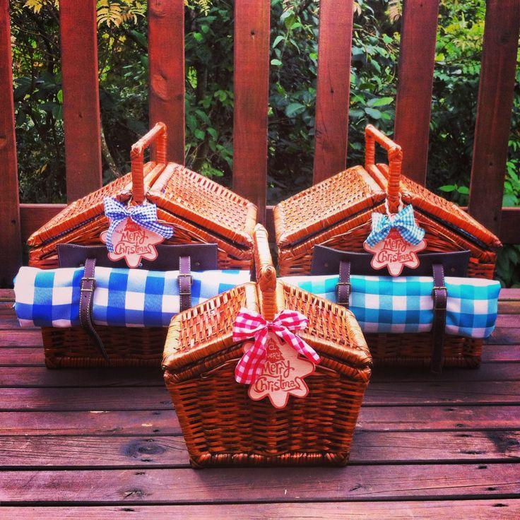 Canastas picnic 100% artesanales!