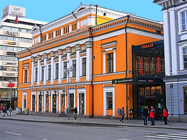 Åbo Svenska Teater - The Swedish Theatre in Turku, Finland