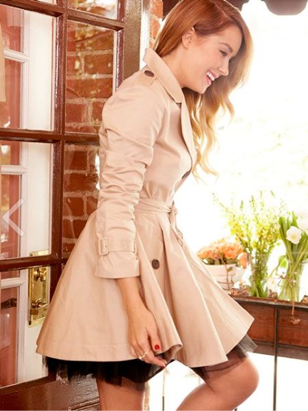 paper crown trench coat #laurenconrad