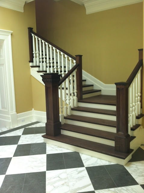 Best Painting Stair Banisters Images Pinterest
