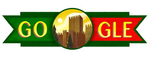 Portugal National Day 2016  Date: June 10 2016  Today is Dia de Portugal de Camões e das Comunidades Portuguesas which is the national day of Portugal. The day honors the country itself the great Portuguese poet Luís de Camões and the Portuguese language. Camões wrote Os Lusíadas which is the country's national epic poem celebrating centuries of achievements.  For a vivid example of Portugal's rich history check out the subject of today's doodle by Alyssa Winans: Guimarães Castle. This…