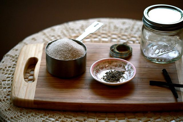 Lavender Vanilla Sugar:  In my coffee everyday!