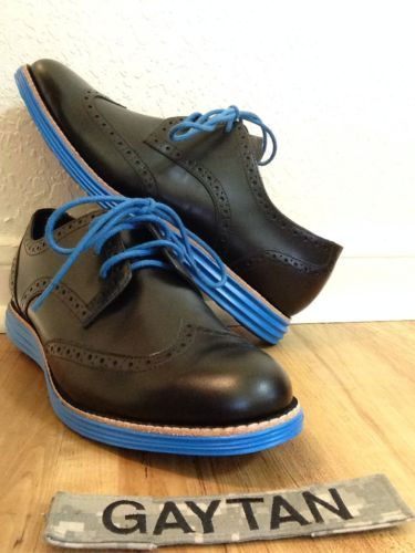 COLE HAAN LUNARGRAND WINGTIP Oxford Sz 7 womens shoes or 5 Y Leather Nike  Sole