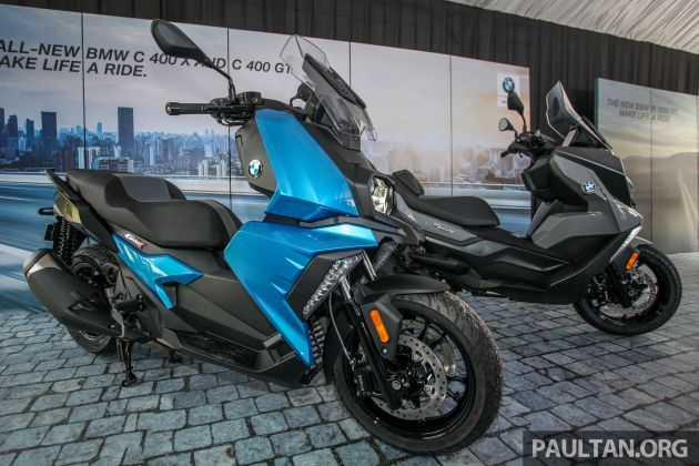 2019 Bmw Motorrad C 400 X And C 400 Gt Scooters Launched In Malaysia At Rm44 500 And Rm48 500 Paultan Org Bmw Motorrad Bmw Bmw Scooter
