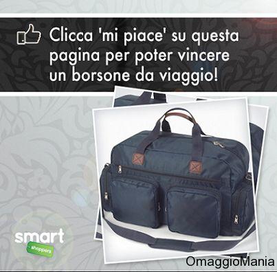 Vinci borsone da viaggio - http://www.omaggiomania.com/concorsi-a-premi/vinci-borsone-da-viaggio/