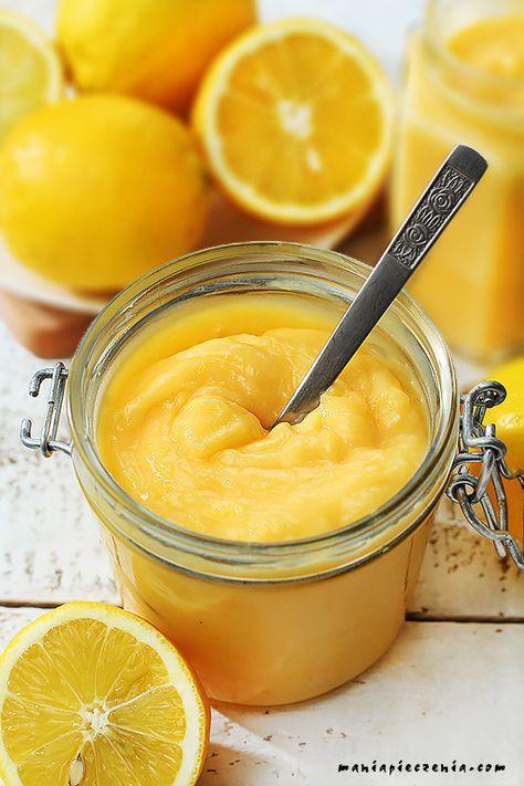 Najpopularniejszy angielski krem. Mocno cytrynowy, kwaśno - słodki, wspaniale orzeźwiający, przepyszny! Lemon curd jest doskonały sam w...