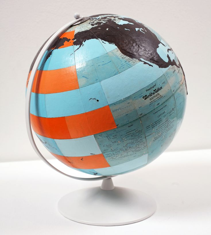 Dylan Egon Globe orange blue black