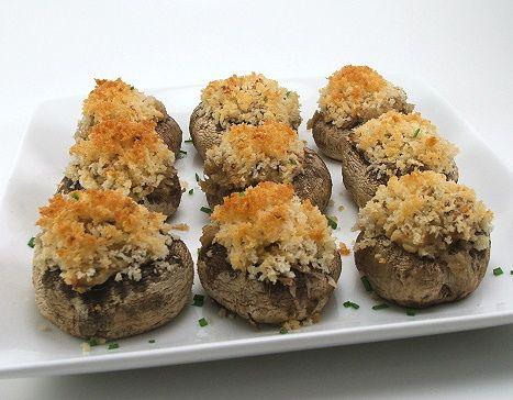 Jalapeno Bacon Stuffed Mushrooms