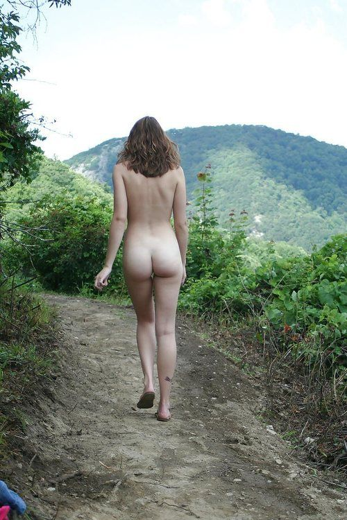Nude Hiking  Women Walking Or Running References -5909