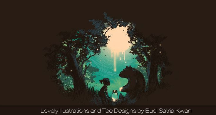Lovely Illustrations and Tee Designs by Budi Satria Kwan | CrispMe