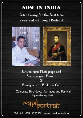 The Royal Portrait: Image and Impact : A Portrait or Picture from a photograph – is always a great surprise for your family or friends. Today you do not need to spend time looking for a good artist, and then a long wait until he draws your portrait. | umashanker