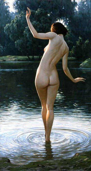 """Igor Belkovsky (b. 1962) """" Bather""""..."""
