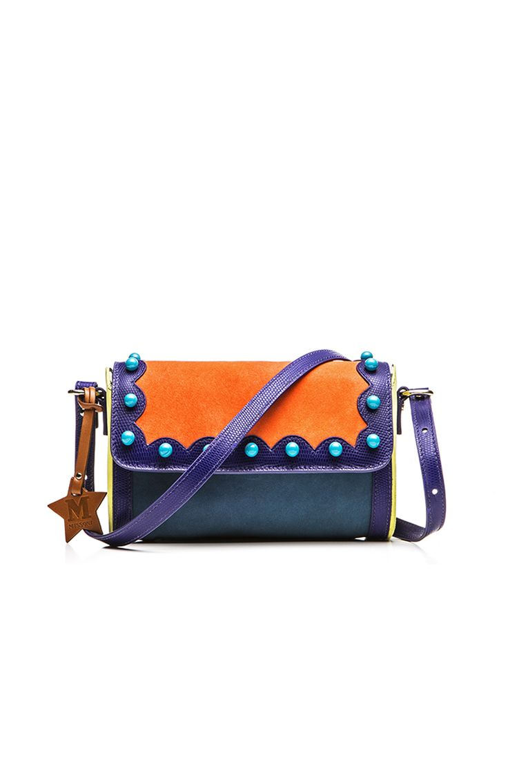 #MMissoni | Purple Orange Clutch | #Summer2016