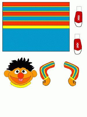 Elmo Toilet Paper Roll Craft