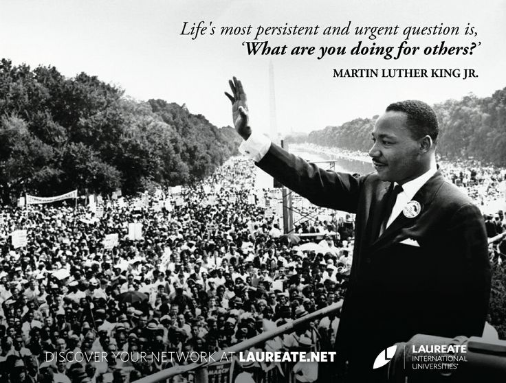 the significance of martin luther king jr to americans Martin luther king jr, a baptist minister and president of the southern christian leadership conference (sclc), was the most prominent african american leader in the civil rights movement of the.