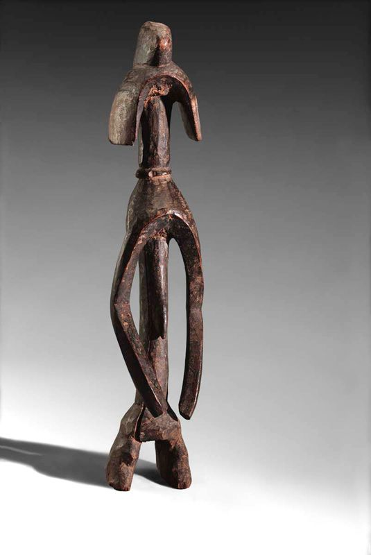 Figure, Mumuye peoples, Nigeria, Early to mid-20th century, Private Collection, Brussels, L2010.48.2