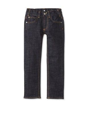 68% OFF DC Boy's 2-7 Slim Jean (Indigo Rinse)