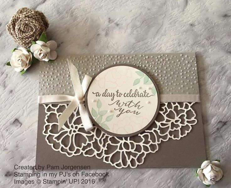 Stampin' Up! So In Love bundle - Love is in the details | So In Love Stamp set and So Detailed Thinlits