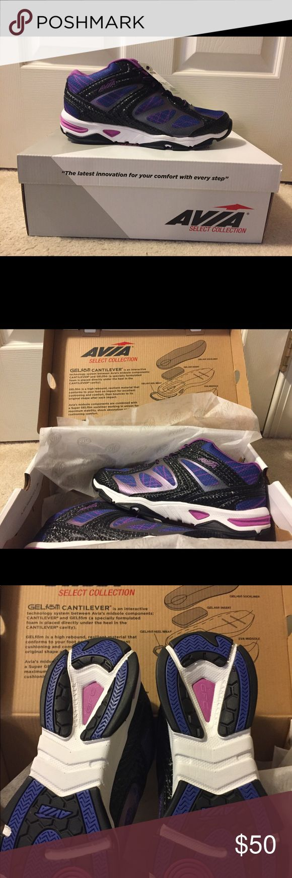 Avia GFC Studio Show Women's 10 NWT New pair of studio shoes great for cardio dance classes! Never worn. Avia Shoes Athletic Shoes
