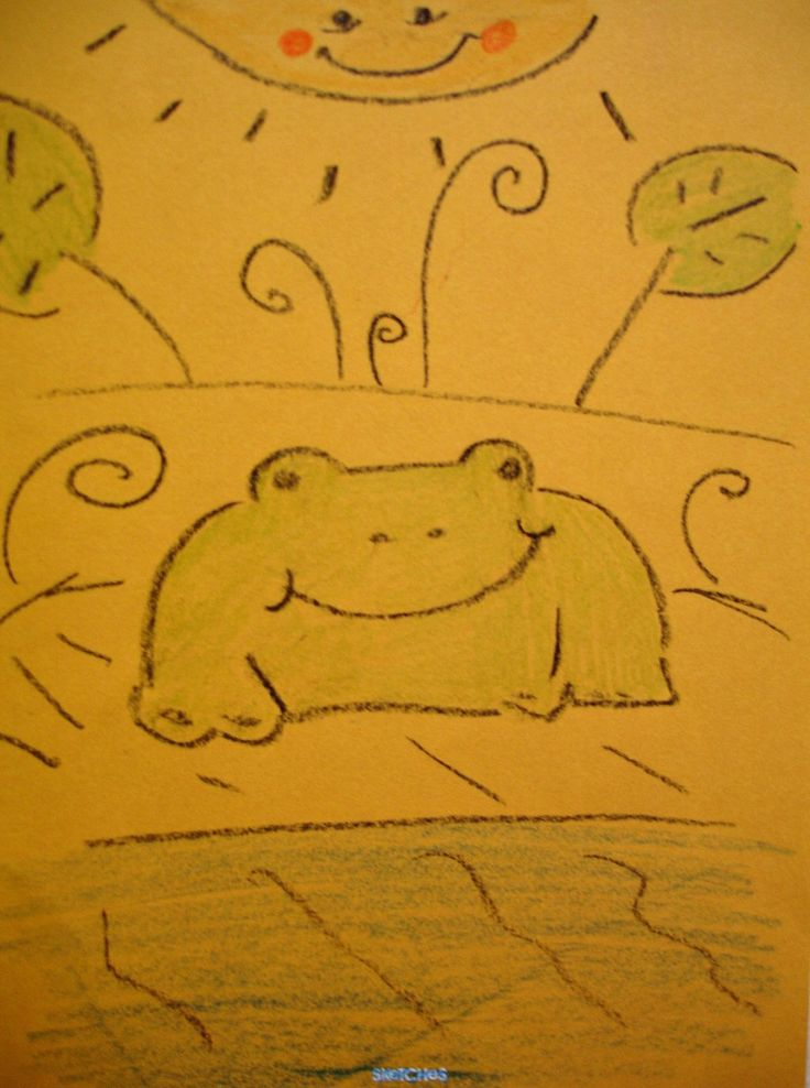 Frog by jina445.deviantart.com on @deviantART