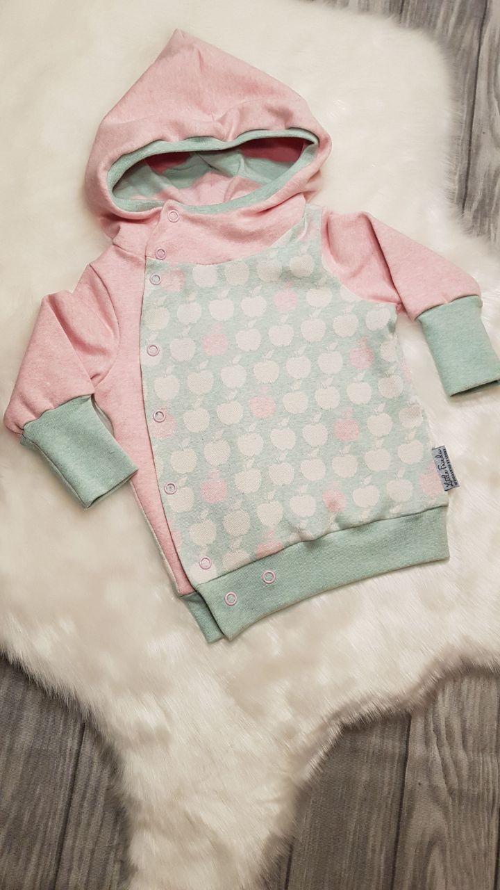 Jacken - Jacke Mädchen, gefüttert Baby Kinder Mädchen Äpfel - ein Designerstück von LittleFrieda-KidsfashionByConny bei DaWanda