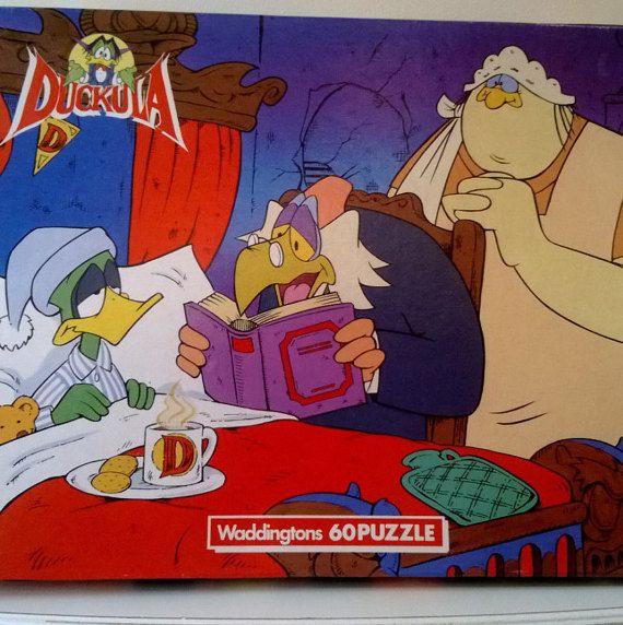 Duckula Jigsaw 60 PiecesMade in England Jigsaw by billingsleyson