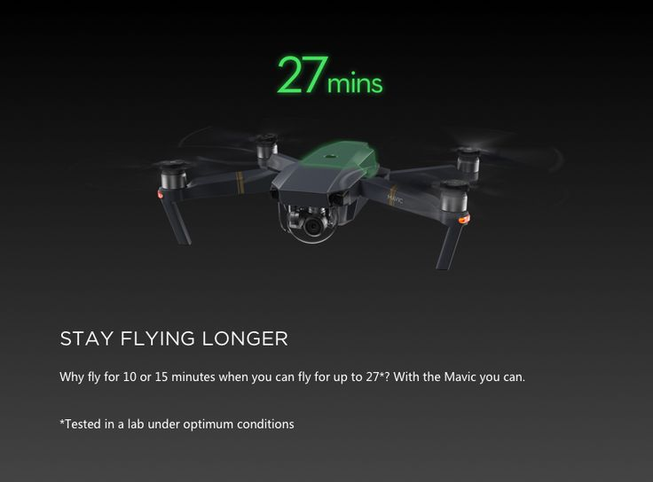 DJI Mavic Pro OcuSync FPV With 3Axis Gimbal 4K Camera RC Quadcopter RTF