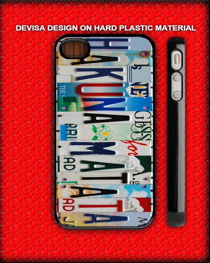 hakuna matata on iphone 4, iphone 5 case