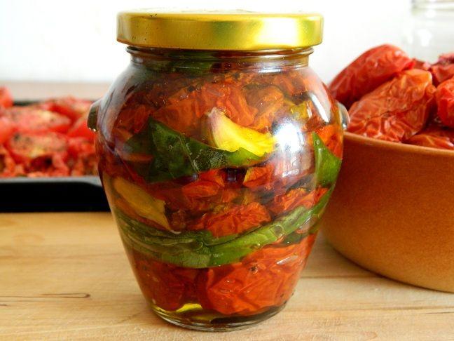 Własne, polskie suszone pomidory