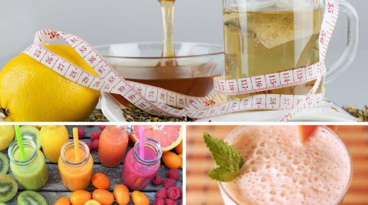 4 Bebidas Naturais para Acelerar o Metabolismo