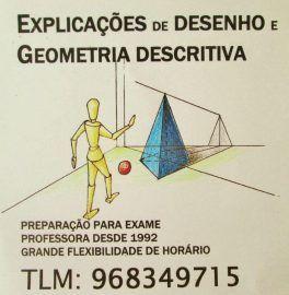 Explicações GEOMETRIA Descritiva/DESENHO-Oeiras Lisboa
