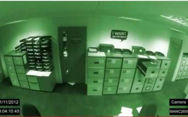 Filmato raccapricciante: fantasmi in ufficio #filmato #fantasmi #paranormale