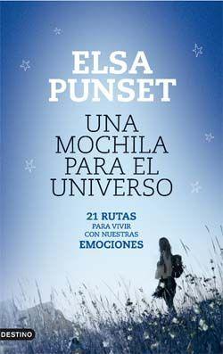 """Si eres professor te encantará este libro de Elsa Punset, """"Una mochila para el universo""""."""