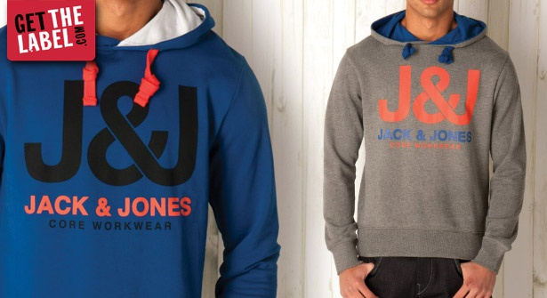 Look sharp this spring with 49% off the Jack & Jones Even Hoody. Available in blue or grey – team with jeans for on-trend style