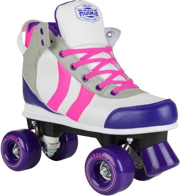Roces Damen Disco Quad Roller Skates Schlittschuhe Rollschuhe Rollerskates