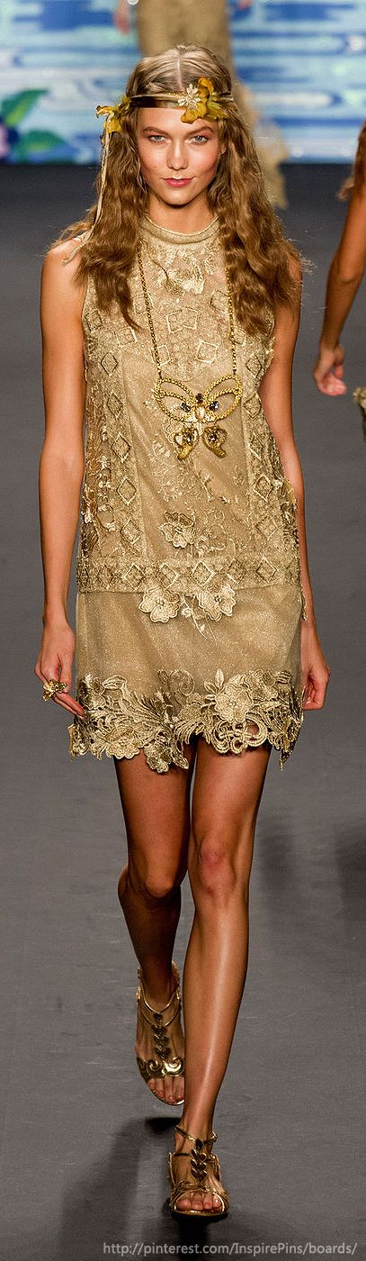 New York Spring 2014 - Anna Sui♥✤ | KeepSmiling | BeStayBeautiful