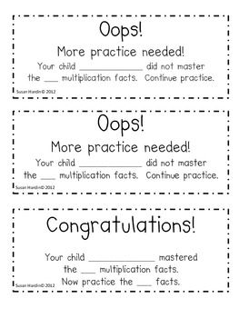25+ best ideas about Multiplication timed test on Pinterest ...